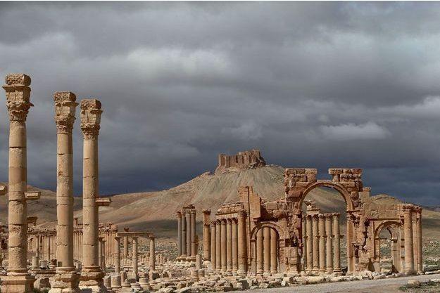 Le musée à ciel ouvert de Palmyre, à 240 kilomètres au nord-est de Damas.