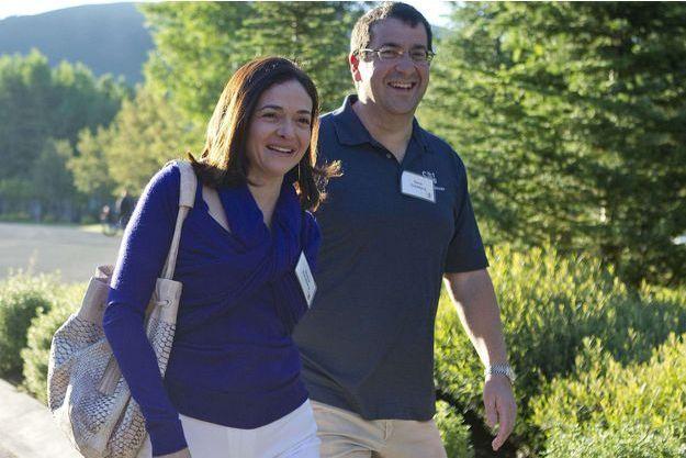 Sheryl Sandberg et Dave Goldberg, photographiés à Sun Valley en juillet 2011.