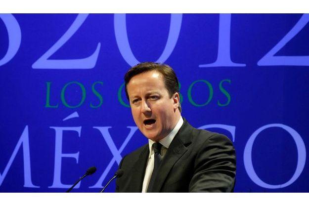 David Cameron à Los Cabos.