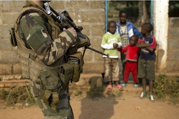 Photo d'illustration de soldats français en Centrafrique.