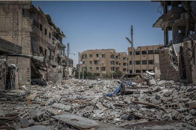 Raqqa, le 24 juillet 2017.