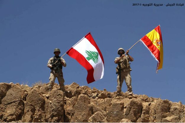 Une image publiée sur le site de l'armée libanaise, samedi.