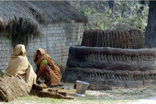 Deux femmes Dalits travaillant dans le nord de l'Inde (illustration).