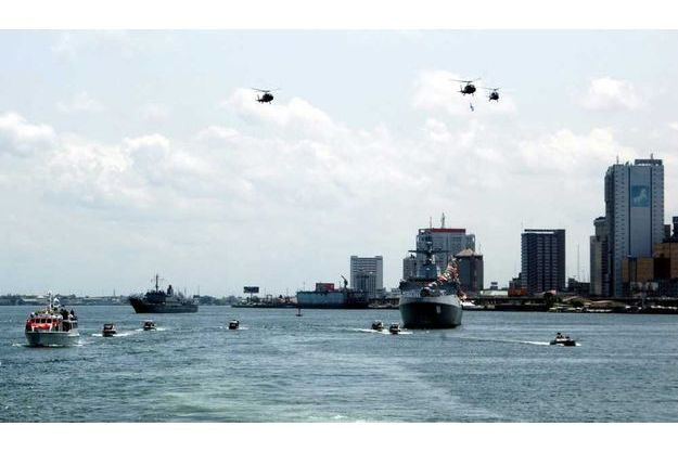 Le port de Lagos, non loin du lieu de l'enlèvement.