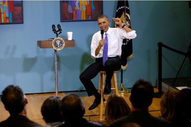 Barack Obama à Nashville, en décembre 2014.