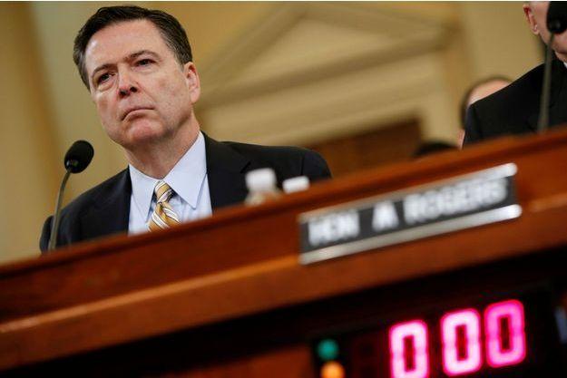 James Comey, l'ancien directeur du FBI, le 20 mars 2017.