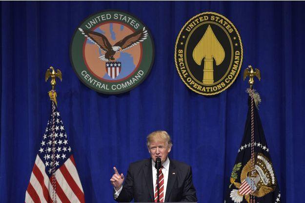 Donald Trump à Tampa, le 6 février 2017.