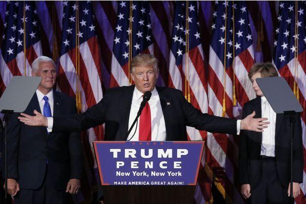 Donald Trump a été élu président des Etats-Unis.