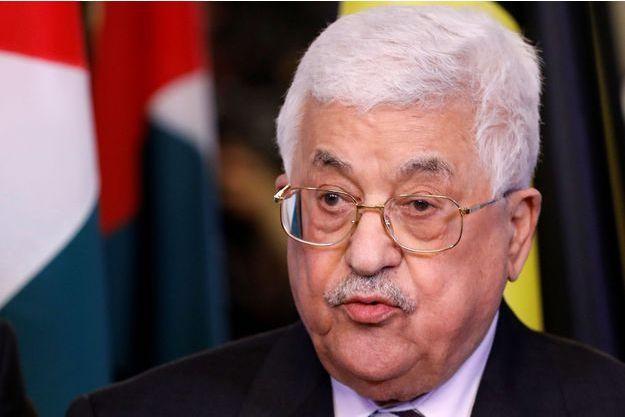 Le président palestinien Mahmoud Abbas, le 9 février 2017.