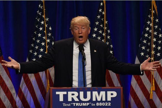 Donald Trump à Manchester, le 13 juin
