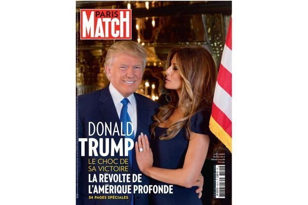 Le 45e président des Etats-Unis et Melania, la nouvelle First Lady.
