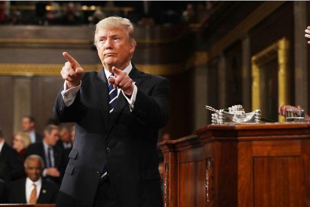 La première grande allocution de Donald Trump était très attendue.