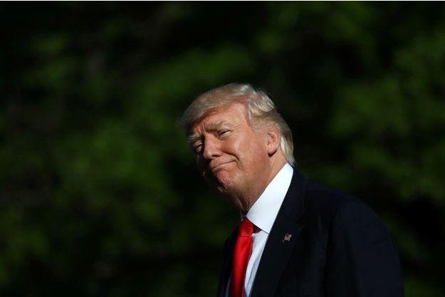 Donald Trump à la Maison Blanche, le 28 avril 2017.