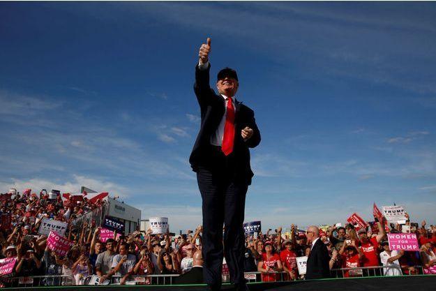 Donald Trump à Sanford, en Floride.