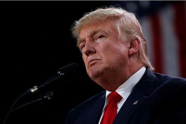 Donald Trump lors d'un meeting à Tampa, en Floride, le 24 octobre 2016.