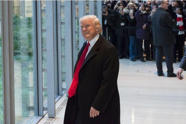 Donald Trump à New York, le 22 novembre.