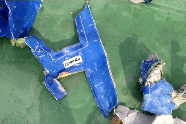 L'avion d'EgyptAir s'est crashé dans la Méditerranée le 19 mai.