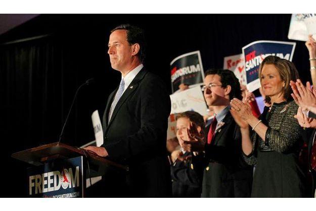Rick Santorum et Karen.