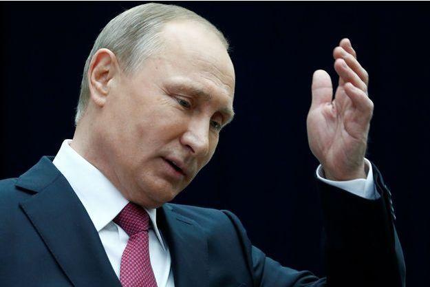 Vladimir Poutine à Moscou, le 15 juin 2017.