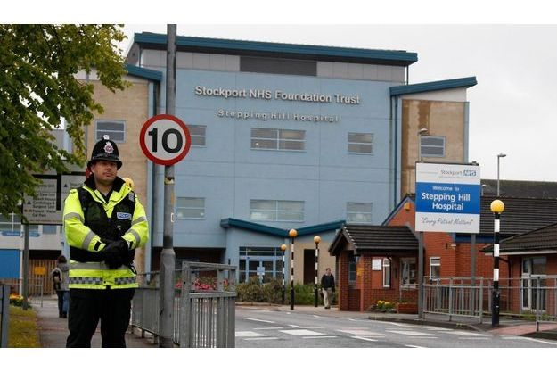 Le Stepping Hill Hospital, en juillet dernier.