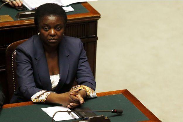 Cécile Kyenge, première femme noire d'un gouvernement italien.