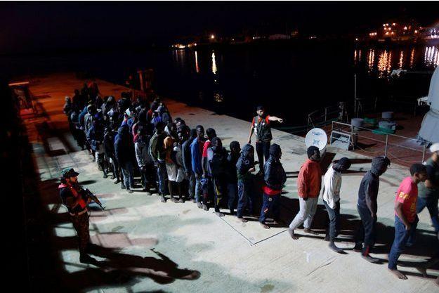 Des migrants en Libye (image d'illustration).