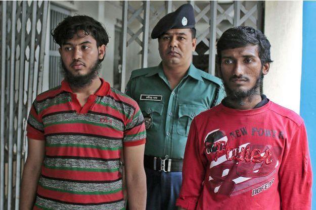 Jikrullah et  Ariful Islam, les deux suspects écroués.