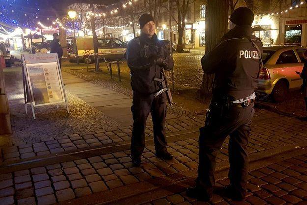 Un marché de Noël de Potsdam a été évacué.