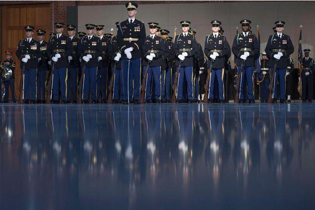 Des soldats sur la base militaire Myer-Henderson Hall, en janvier 2017 (image d'illustration).