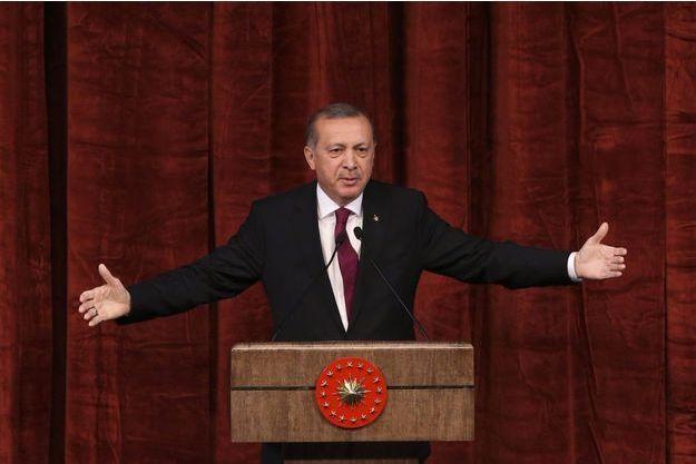 Recep Tayyip Erdogan, vendredi.