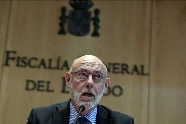 José Manuel Maza, à Madrid, le 30 octobre dernier.