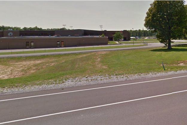 Le lycée de Marshall County, à Benton.