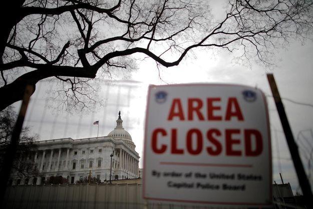 Le Capitole est resté fermé ce lundi.