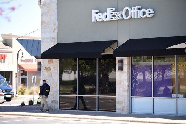 Les bureaux de FedEx à Austin.