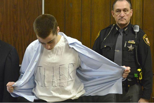 T.J. Lane lors de son procès en 2013