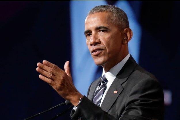 Barack Obama, en juin 2017.