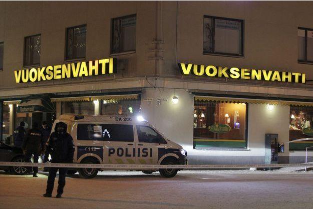 Le restaurant où le drame a eu lieu.