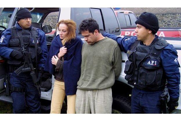 Une photo de sa prétendue arrestation en décembre 2005.