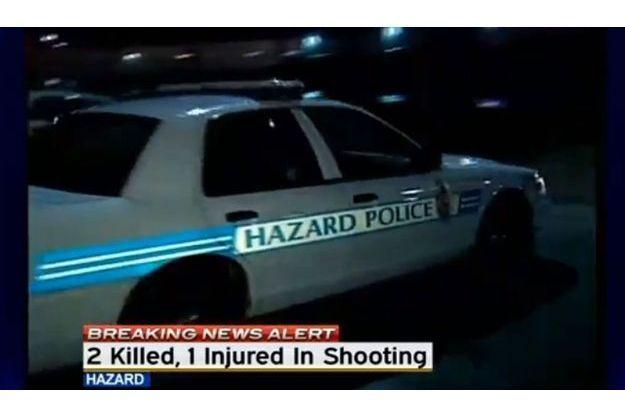 La fusillade a éclaté mardi soir dans la ville d'Hazard.