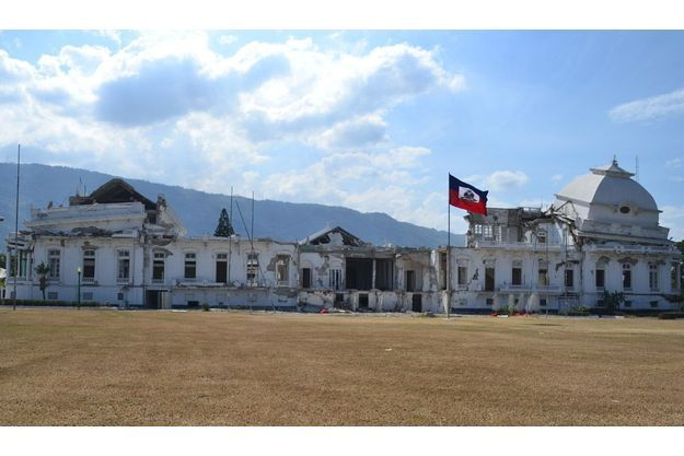 Le palais présidentiel de Port-au-Prince.