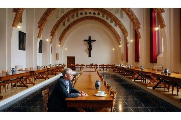 Catholique pratiquant, Herman Van Rompuy  effectue plusieurs retraites spirituelles  par an, ici à l'abbaye d'Affligem. Il y a un mois, encore chef du gouvernement belge,  il a donné une conférence sur l'encyclique  de Benoît XVI « Caritas in veritate ».