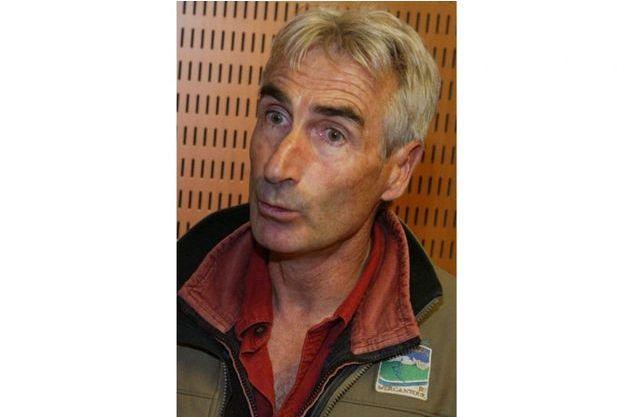 Hervé Gourdel, ici en 2008, est guide de haute-montagne niçois.