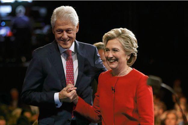 Le couple fait front, uni, face à Donald Trump, lors du premier débat télévisé le 26 septembre.