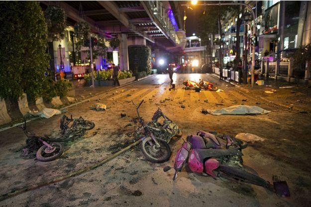 L'explosion a fait au moins dix morts.