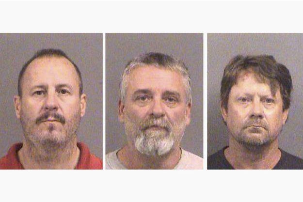 Curtis Allen, Gavin Wright et Patrick Eugene Stein, les trois hommes mis en examen.