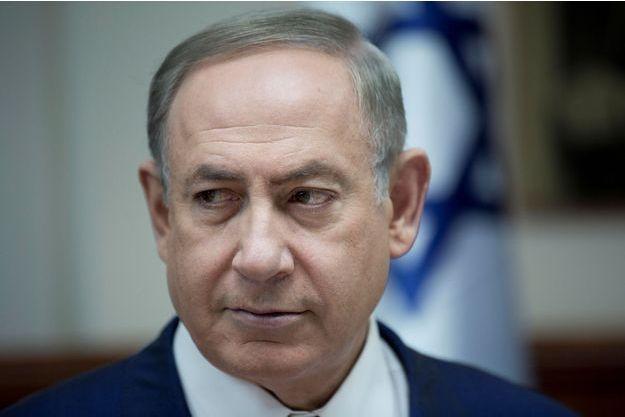 Le Premier minister israélien Benjamin Netanyahou, le 29 janvier 2017 à Jérusalem.