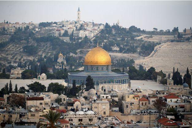 Vue sur la ville de Jérusalem.