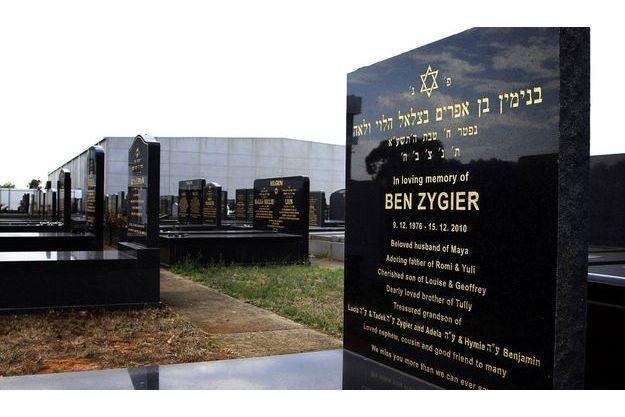 La tombe supposée du prisonnier X, en Australie.
