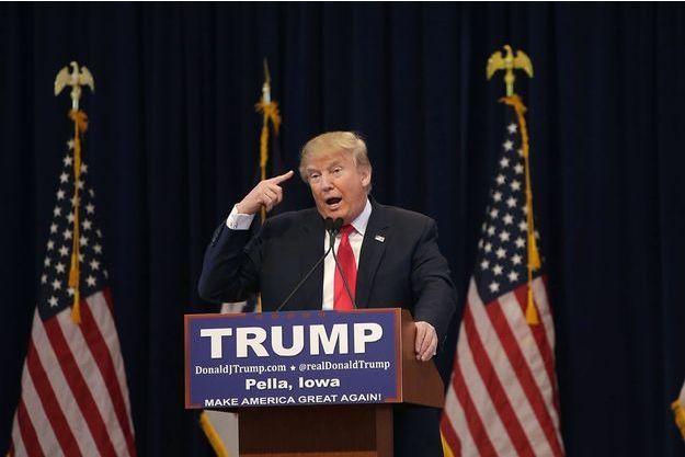 Donald Trump en Iowa, le 23 janvier 2016.