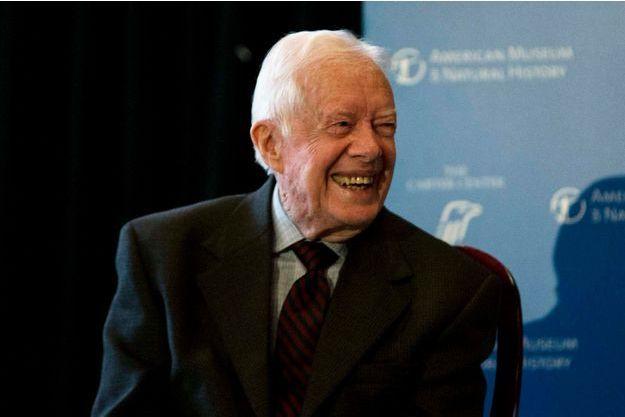 Jimmy Carter en janvier dernier.